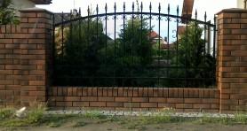 Ogrodzenie prywatny dom Wroclaw