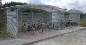 Wiata rowerowa Wroclaw